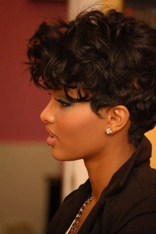 short shaved hairstyles for black women photo - 8
