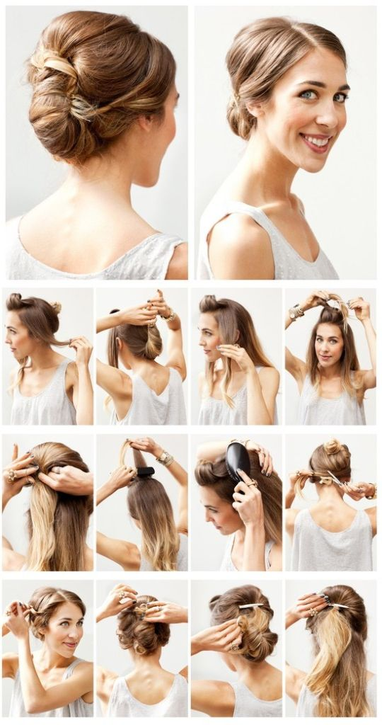 simple hairstyles photo - 11