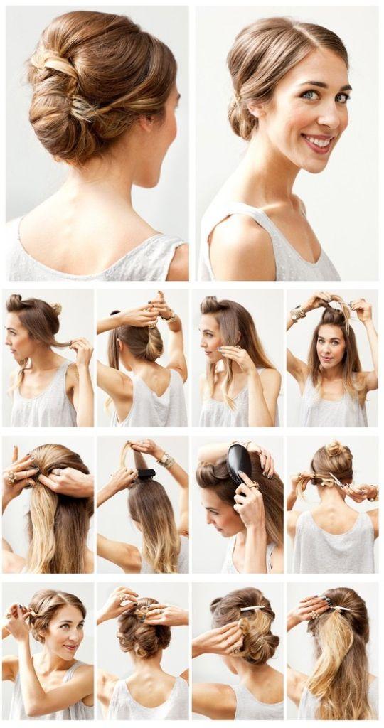 Enjoyable Cute Simple Hairstyle For Medium Hair Best Hairstyles 2017 Short Hairstyles For Black Women Fulllsitofus