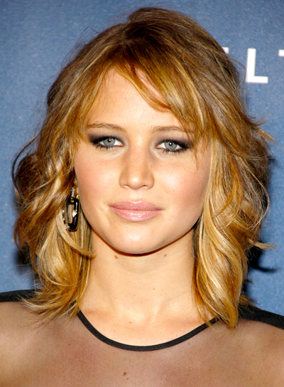 simple hairstyles with bangs photo - 5