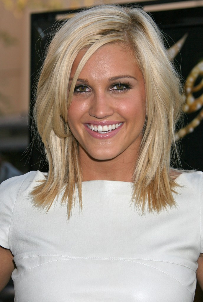 straight hairstyles with bangs photo - 1