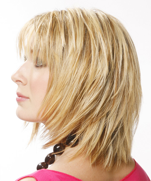 straight hairstyles with bangs photo - 2