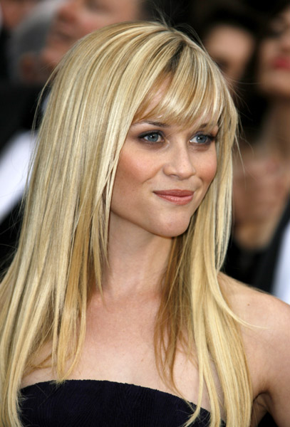 straight hairstyles with bangs photo - 3