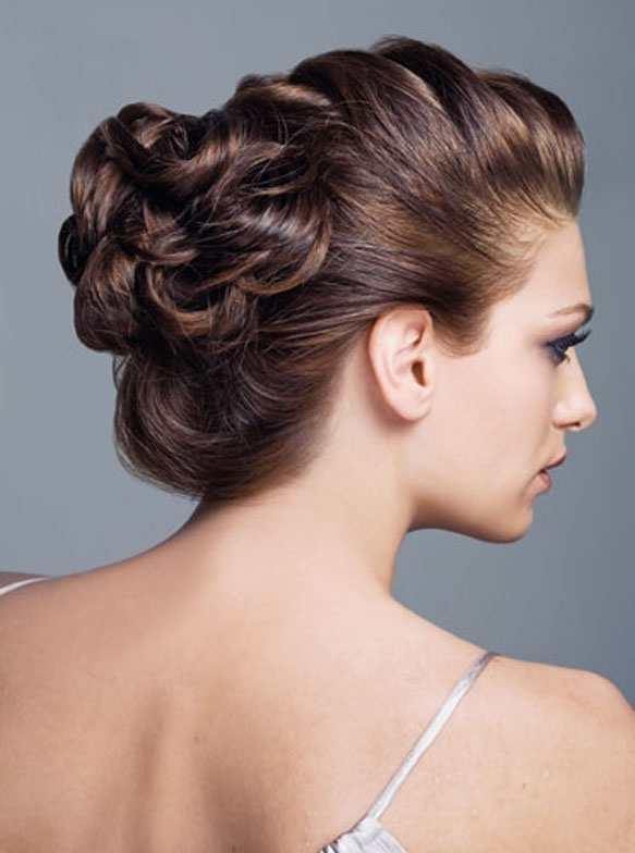 updo hairstyles for thin hair photo - 6
