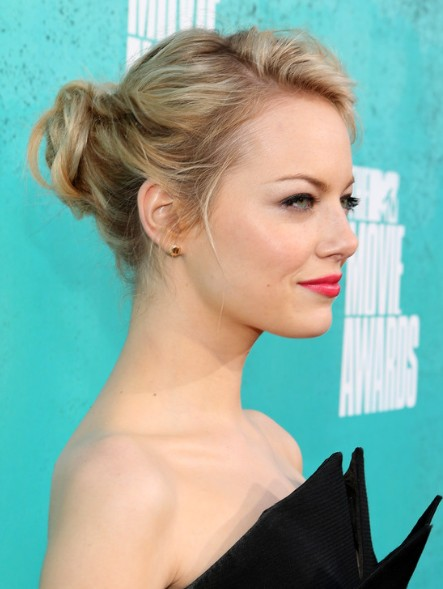 updo hairstyles for thin hair photo - 7