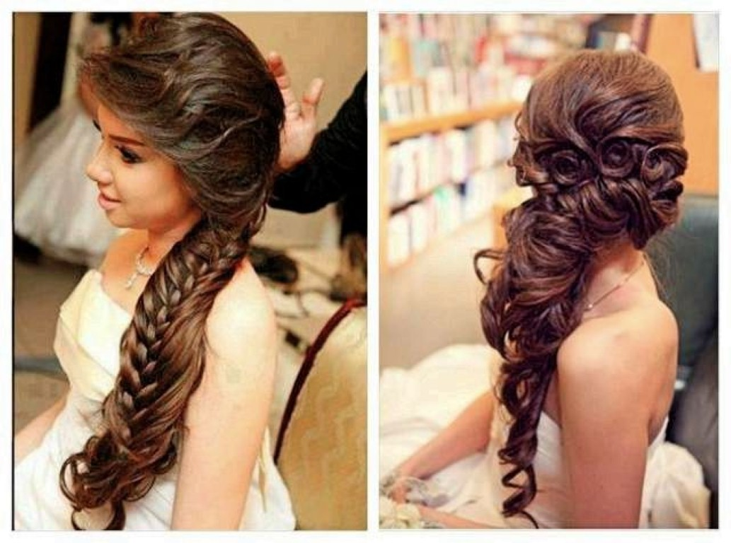 wedding hairstyles for long hair photo - 17