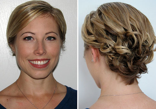 wedding hairstyles for short natural hair photo - 8