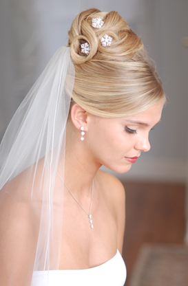 wedding hairstyles for thin hair photo - 6