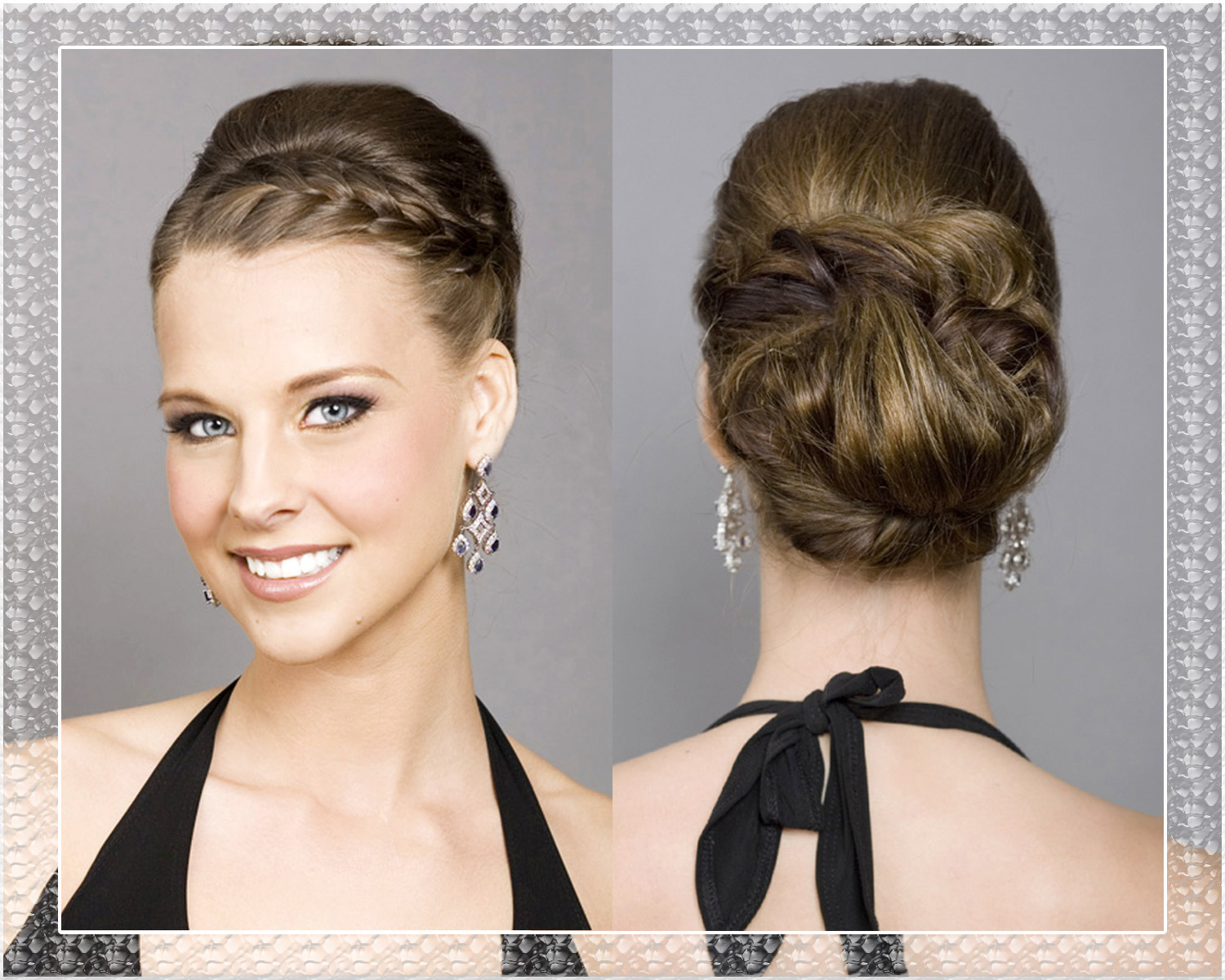wedding hairstyles with bangs photo - 5